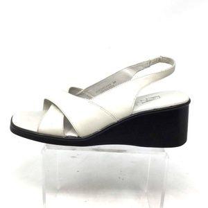 Etienne Aigner Women's Sandals Size 9M/Eu 40 White